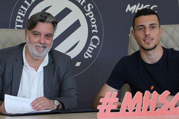 Montpellier - Matis Carvalho - 19 juin 2019.