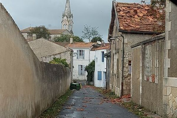 Tornade Château d'Oléron
