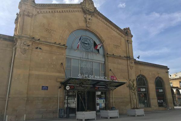 Fin des Ouigo vers Paris en gare de Nancy (Meurthe-et-Moselle) d'ici décembre 2021.