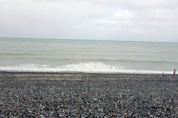 La plage du Tréport.