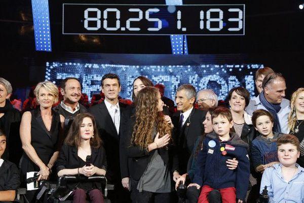 Le Téléthon 2015 a permis de récolter 80 251 183 euros de promesse de don