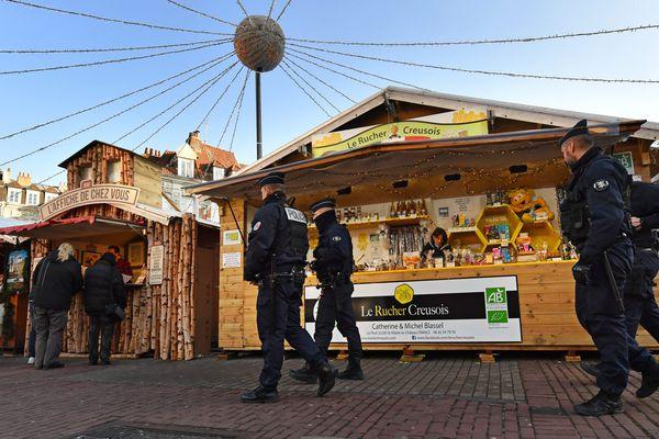 Les marchés de Noël sont particulièrement sous l'oeil des autorités - Photo d'illustration