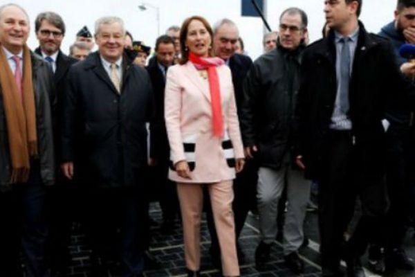 Ségolène Royal a inauguré la première route solaire en octobre dernier.