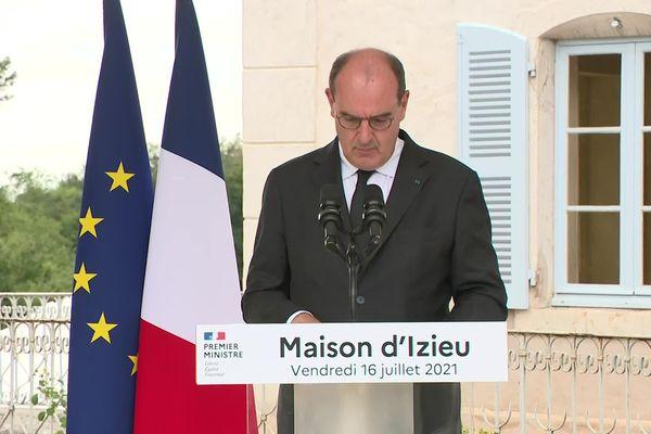 Jean Castex à Izieu