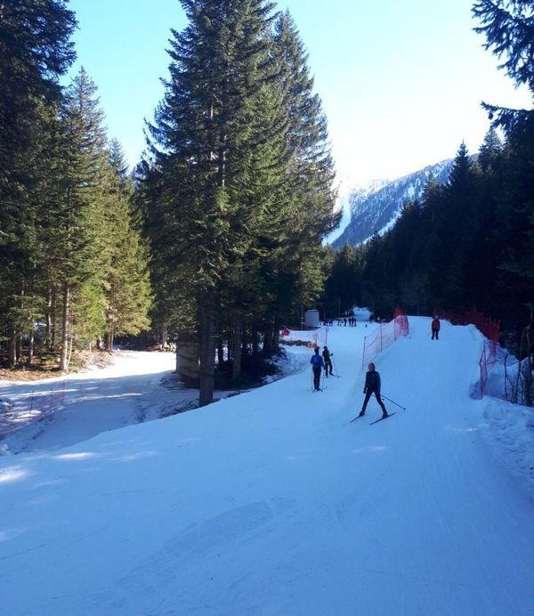 70% du domaine skiable de la Colmiane est ouvert.