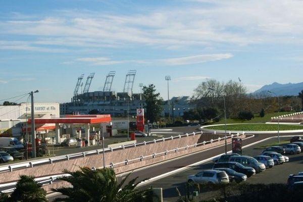 11/10/14 - Aménagement du carrefour de Furiani, au sud de Bastia