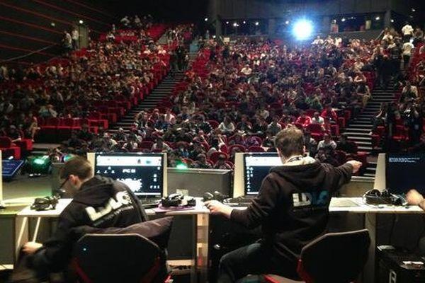 Une finale de la Gamers Assembly en 2013.