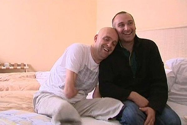 Arnaud Chassery et Philippe Croizon