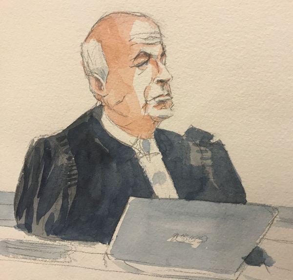 Me Simon Miravete, avocat de la famille d'Hélène Kahn.