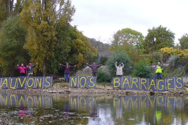 Un collectif d'associations de Tonnerre se bat contre l'effacement de deux barrages