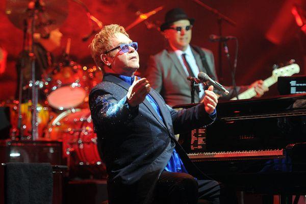 Elton John au festival de Carcassonne, au grand théâtre Jean Deschamps - 15juillet 2014
