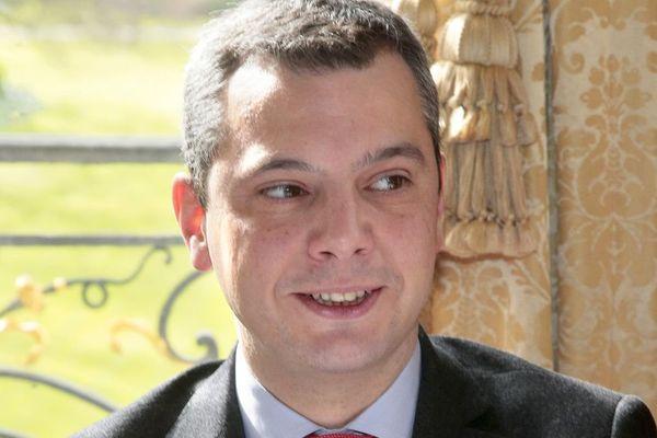 Alexis Kohler photographié lorsqu'il était directeur du cabinet d'Emmanuel Macron au ministère de l'Économie, en mars 2016.