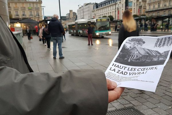 Distribution de tracts