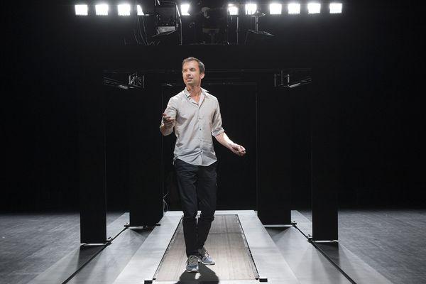 """Vincent Dissez dans """"Réparer les vivants"""" mis en scène par Sylvain Maurice au Théâtre de la Passerelle de Gap du 12 au 14 mars"""