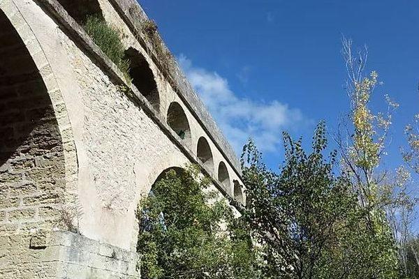 L'aqueduc de Saint-Clément, l'un des lieux sanctuarisés par la charte de bonne conduite environnementale signée par les trois listes en lice pour le second tour des élections municipales à Montpellier.