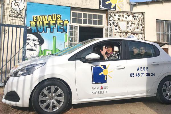 L'auto-école solidaire d'Emmaüs à Ruffec