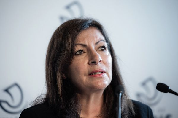 Anne Hidalgo le 29 octobre 2020.