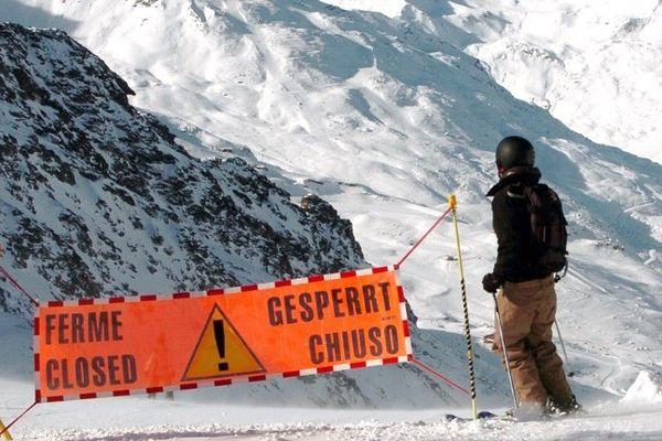 Alerte orange avalanches dans les Hautes-Alpes et Alpes-Maritimes.