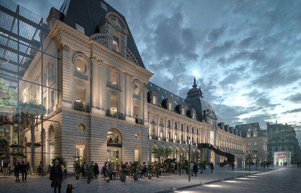 La structure patrimoniale du futur palais du commerce sera mise en valeur