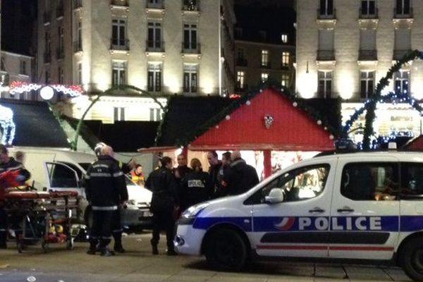 Le 22 décembre 2014 un chauffard fonçait avec sa camionnette dans la foule du marché de Noël à Nantes
