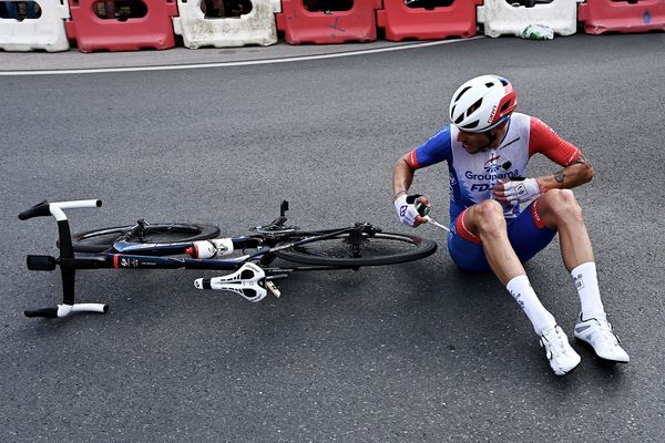 La formation Groupama-FDJ a cumulé chutes et difficultés lors de ce Tour de France 2021.