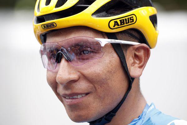 Nairo Quintana remporte la seconde étape du Tour des Alpes-Maritimes et du Var.