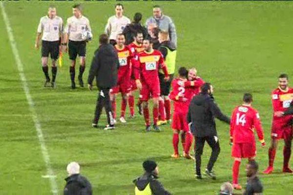 Le RC Lens s'est incliné 2-1 vendredi 20 novembre à Quevilly-Rouen dans le cadre du 7e tour de la Coupe de France.