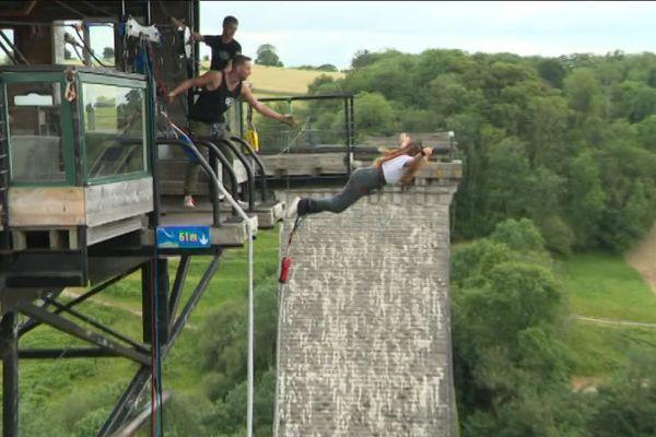 L'activité saut à l'élastique au viaduc de la Souleuvre doit rouvrir ce vendredi 30 août