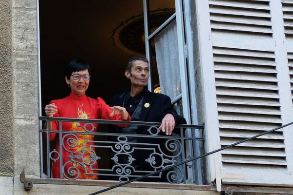 Franck et Angélique se sont mariés à Besançon, pendant le confinement.