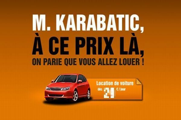 Publicité du loueur Sixt assignée en référé par Nikola Karabatic
