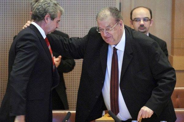 Le jour de l'élection de Georges Frêche à la région le 26 mars 2010