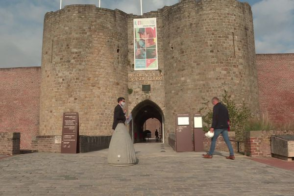 L'Historial de Péronne a rouvert ses portes le jeudi 10 septembre avec la mise en place de visites adaptées.