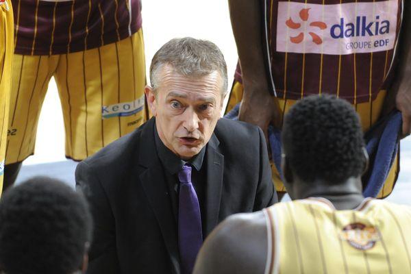 Pierre Vincent, l'entraîneur de l'OLB a pris la décision de rester