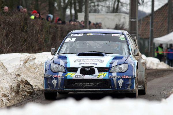Eric Brunson remporte avec sa Subaru le 53e Rallye du Touquet