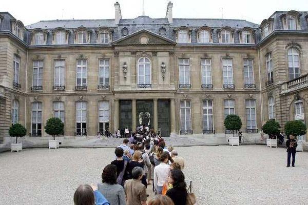 Le Palais de l'Elysée : le mythique Hôtel d'Evreux ouvre ses portes tout le week-end de 8h à 19h, attention il risque d'y avoir beaucoup d'attente...