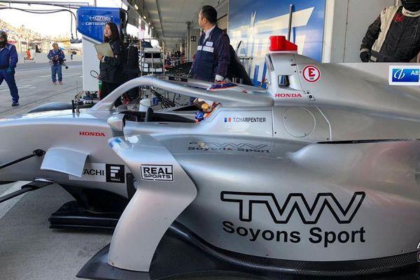 Tristan Charpentier disputait à Suzuka sa toute première course de Super Formula.