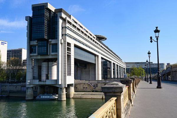 Le ministère des Finances à Paris-Bercy