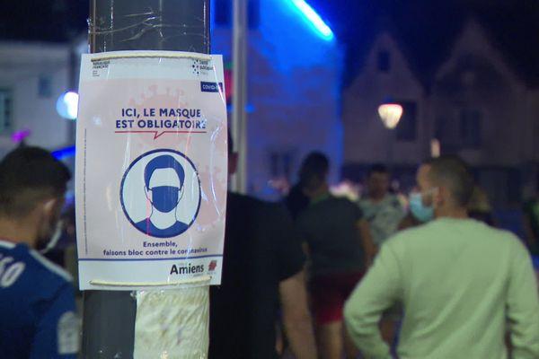 Le port du masque était déjà obligatoire dans certains secteurs d'Amiens, dont le quartier Saint-Leu (ici en août dernier).