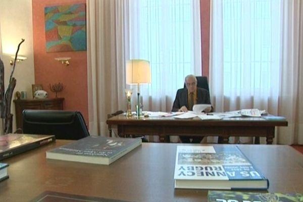 Christian Monteil, président de l'Assemblée des Pays de Savoie