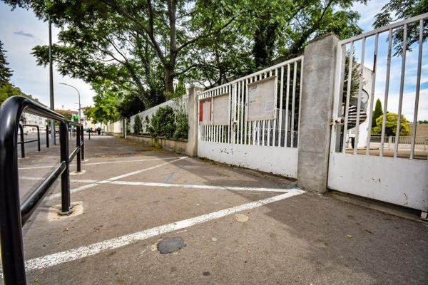 L'école Georges-Bruguier, à Nîmes, le 19 juin 2020.