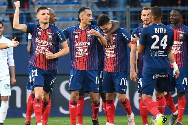 Caen s'est imposé sur sa pelouse 3-2 face à Reims - 11 mai 2019