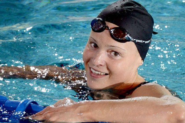 Cloé Credeville la trois fois championne nantaise des bassins aux championnats de France à Rennes