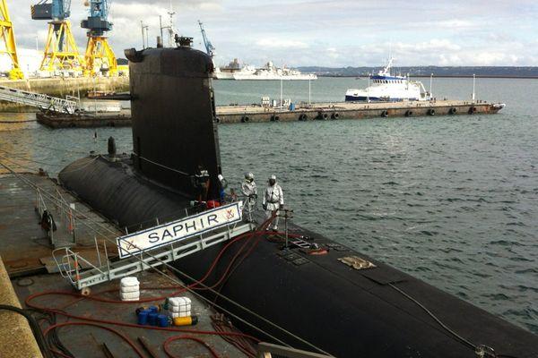 L'exercice simule un accident d'une chaufferie nucléaire d'un sous-marin nucléaire d'attaque (SNA)