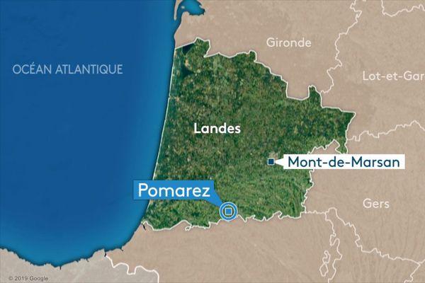 Un homme de 34 ans a été découvert mort dans l'incendie de son appartement à Pomarez, dans les Landes.