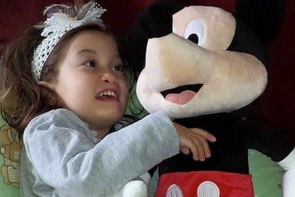 """Photo extraite de la page Facebook """"Gina, une princesse exceptionnelle""""."""