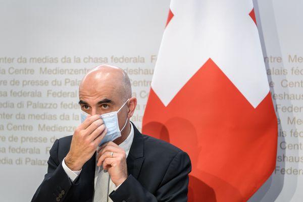 Alain Berset, Conseiller fédéral en charge de la Santé