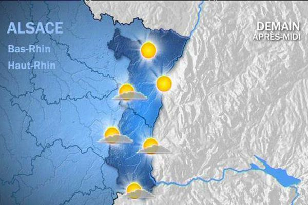Les prévisions météo pour le lundi 6 juillet 2015