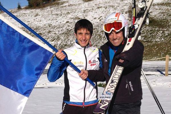 Jason Lamy-Chappuis et Vincent Gauthier-Manuel, les porte-drapeaux français