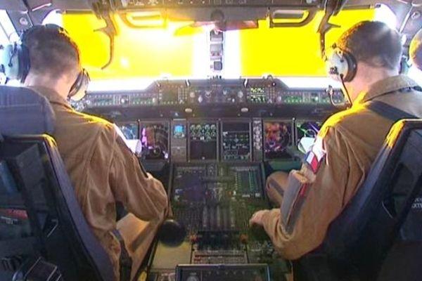 Le cockpit de l'A400M