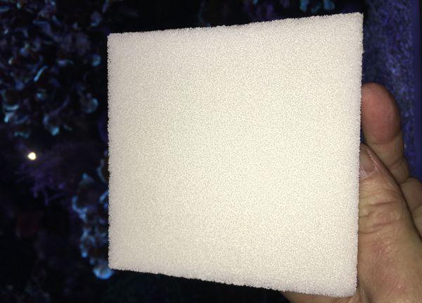 La porosité de la céramique rappelle celle des coraux.